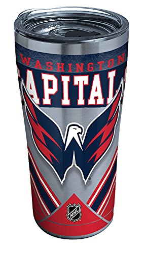 Tervis NHL Washington Capitals Ice Stainless Steel Tumbler, 20 oz, Silver
