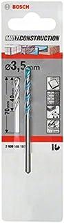 Bosch 2608588197 CYL-9 Multi Purpose Drill Bit, 3.5mm x 40mm x 70mm, Silver