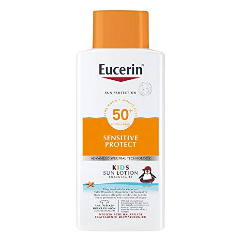EUCERIN Sun Kids Lotion LSF 50+ Promo 400 ml Lotion