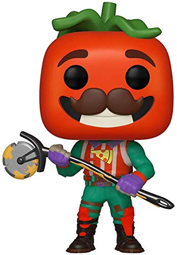 Funko Pop! Vinilo: Games: Fortnite: TomatoHead, Multicolor, Talla nica