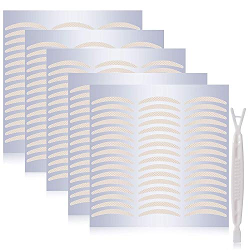240 Pair Natural Invisible One Side Eyelid Tape Stickers - Instant Eye Lift Without Surgery - Perfect for Hooded, Droopy, Uneven, or Mono-eyelids (Natural Complexion, Slim)