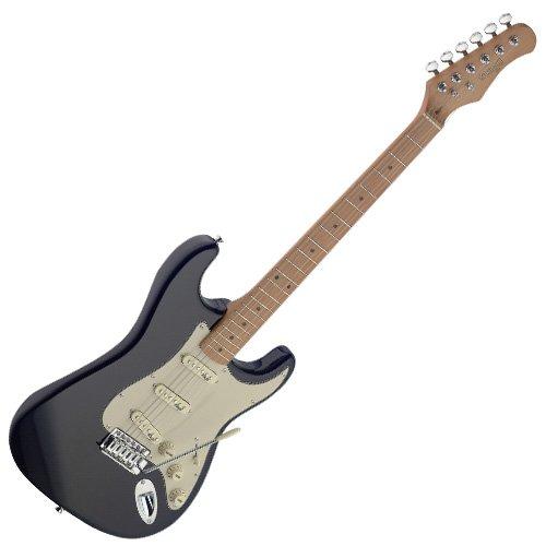 Stagg SES50M-BK Série Vintage Guitare électrique Noir