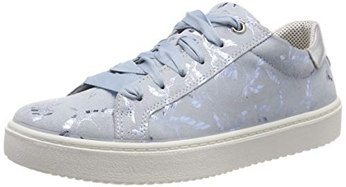 Superfit Mädchen Heaven Sneaker, Blau (Hellblau 85), 33 EU