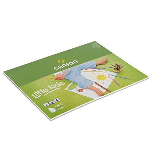 Canson 400015582 Hobby, Zeichenpapier, A2, weiß