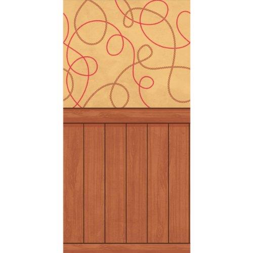 falksson, Sfondo Decorativo, Motivo: Western, 1,2 x 12 m