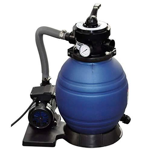 Zandfilter | Doorstroomsnelheid 11000 l/u | Volume zandtank 19 kg | Multi-weg-ventiel