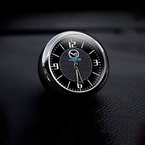 KINBEAR Car Dashboard Mini Clock Quartz Watch Interior Accessories High Accuracy Luminous Dial with Vent Clip Refit Decoration Ornaments