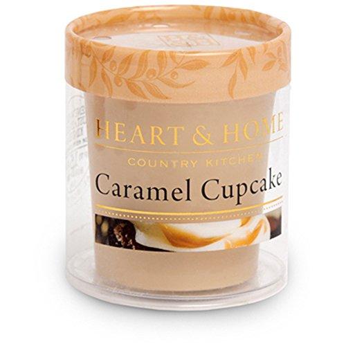 Heart & Home Bougie parfumée Votiv Caramel Cupcake 53 g