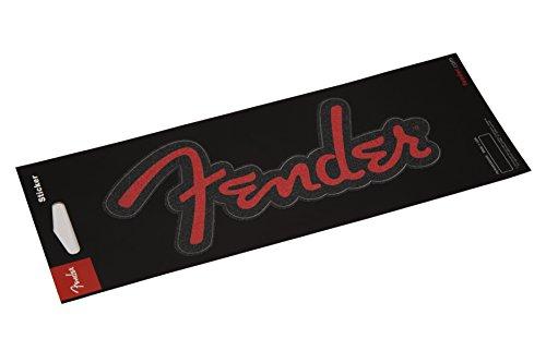 Fender 9100253000Logo Aufkleber