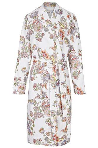 Ringella Bloomy Damen Bademantel mit Bindegürtel Off-White 40 0258719, Off-White, 40