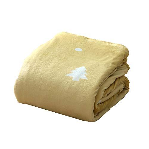 イケヒコ こたつ布団カバー 長方形 ホース 約195×245cm イエロー シンプル 洗える ファスナー #5190629