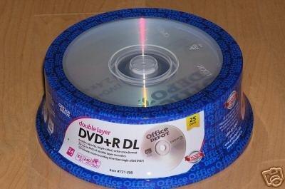 dvd doble capa de la marca Office Depot