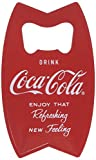 Tablecraft CC343 Stainless Steel Coca-Cola Bottle Opener Fridge Magnet, Red