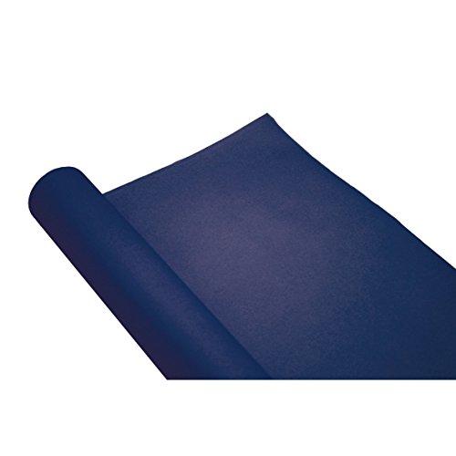 Générique Chemin de Table uni Bleu Marine jetable
