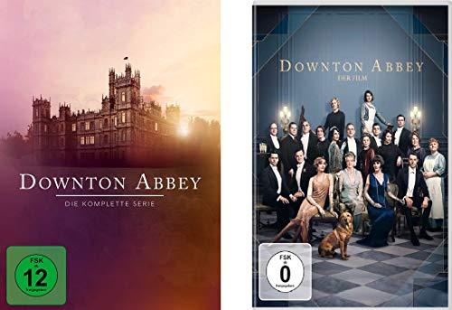 Downton Abbey - Die komplette Serie + Spielfilm im Set - Deutsche Originalware [24 DVDs]