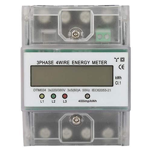 Medidor trifásico, fuente de alimentación 12V Monitor de voltaje constante Interruptor de CC Fuente de alimentación Adaptador del conductor Transformador
