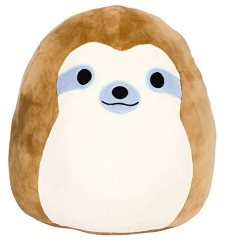 """Squishmallows Simon The Sloth 16"""" Stuffed Plush Toy"""
