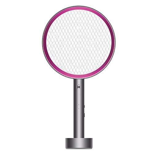 Akemaio Mosquito Swatter eléctrico para el hogar, LED Trampa para Mosquitos Descarga eléctrica electrónica del Asesino del Mosquito matamoscas Killer