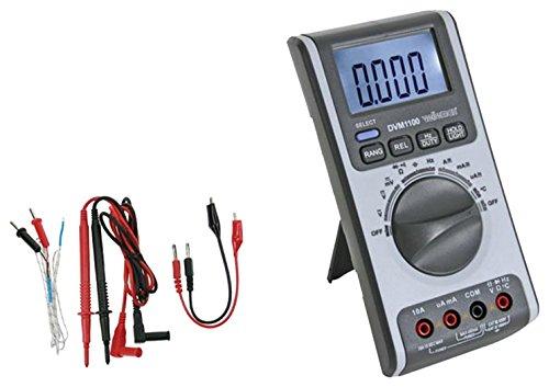 VELLEMAN - DVM1100 Multimeter mit Automatischer Plus Manueller Bereichseinstellung- 4000 Zählungen 410166