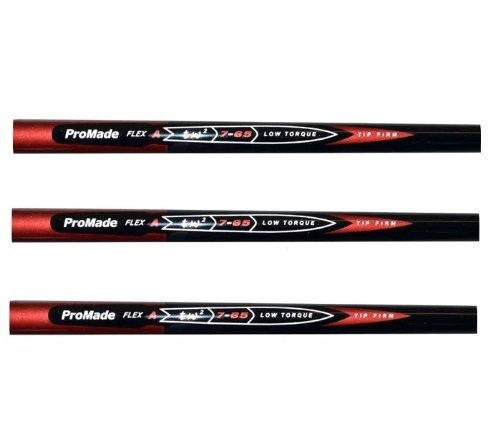 Pro Taylor Fit Nano Made PGA Tour 65 Gram Graphite Golf Iron Shafts - L, A, R or S Flex