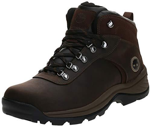 Timberland mens Flume Waterproof Hiking Boot, Dark Brown, 9.5 Wide US