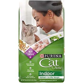 Purina Cat Chow Hairball Healthy Weight Indoor Dry Cat Food Indoor -  4  3.15 lb Bags
