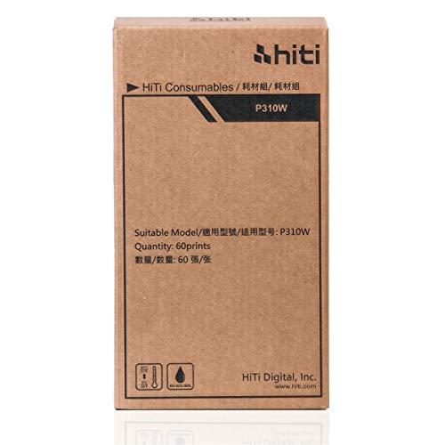 HiTi 4x6 Photo Print Pack for P310W Printer, by HiTi