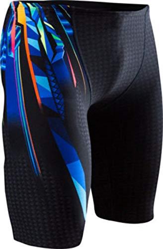 TYR Men's Bravos All Over Jammer Swimsuit, Multi Color, 38