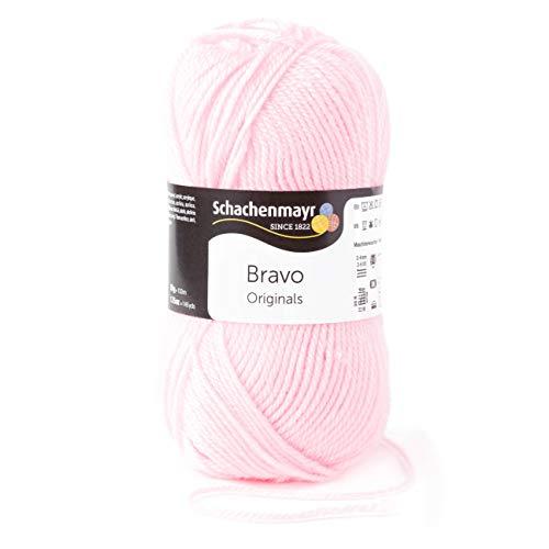 Schachenmayr Bravo 9801211-08206 rosa Handstrickgarn, Häkelgarn