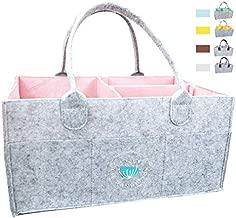 Lil Dandelion-Baby Diaper Caddy Organizer Portable, Pink