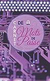 Carnet de Mot de Passe: Identifiants & Codes secrets Internet en Sécurité | Format Discret & Pratique |Répertoire Alphabétique | 115 Pages