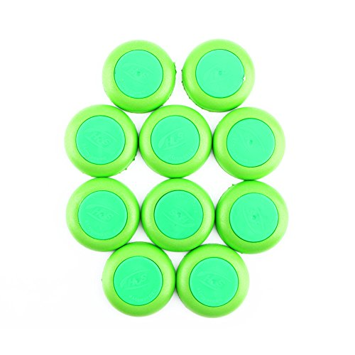 Yosoo Wholesale Soft Refill Plate Green Bullet Darts Accessory for Nerf 10pcs