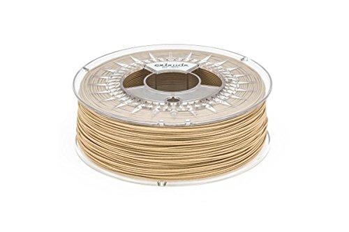 extrudr® BDP ø1.75mm (0.8kg) WOOD/HOLZ/FICHTE natur - Filament auf Holzbasis! Biologisch vollständig abbaubar! - 3D Drucker Filament - Made in Austria - höchste Qualität zum fairen Preis!