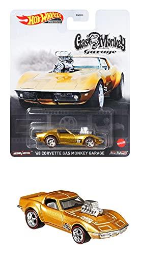 ホットウィール(Hot Wheels) レトロエンターテイメント - '68 コルベット ガスモンキーガレージ FLD15