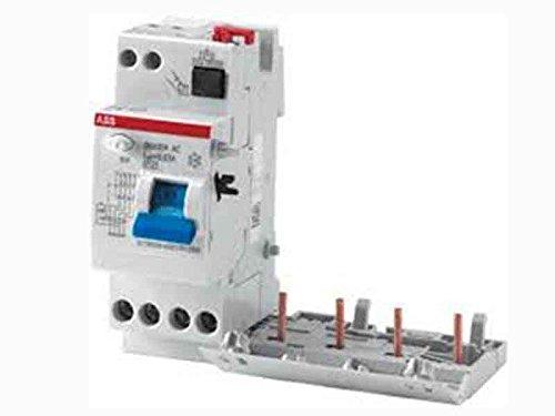 ABB 2CSB204101R1250-DDA204A-25/0,03 Componente Elettronico, White