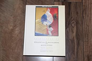 Principles of Financial  & Managerial Accounting 0538814071 Book Cover