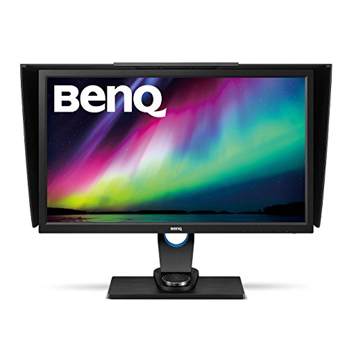 BenQ SW2700PT 27 Inch QHD 1440P IPS Photography Monitor | Aqcolor technology for Accurate Reproduction | Hotkey Puck Efficiency Boost,Black