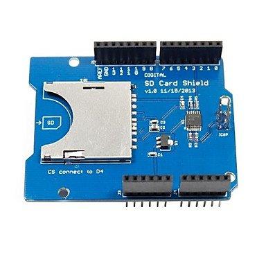 FAYM- catalex sd / tf tarjeta de expansión escudo tarjeta para (para arduino) (trabaja con oficiales (para Arduino) Tablas)