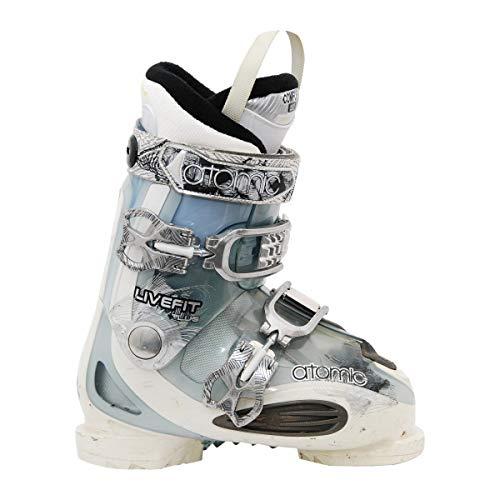 ATOMIC Gebrauchte Skischuhe live fit Plus weiß/blau