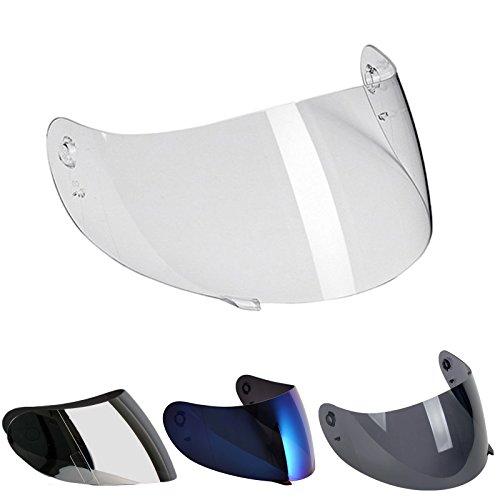 Visera para casco AGV K3,K4,K4Evo, modelo Street 8, para tallasXXS, XS, S, M, L, XL, XXL, homologada para K-3,K-4 MULTI TAGLIA transparente