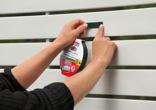 tesa Powerbond Outdoor (Doppelseitiges Montageband für den Außenbereich, Wasserfestes, starkes, UV,beständiges Klebeband, 5 m x 19 mm) - 5