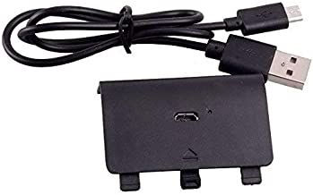 OSTENT Rechargeable Battery Pack and USB Charger Cord Compatible for Microsoft Xbox One Controller