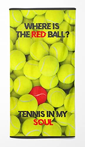 Telo Mare in Spugna 90x170 (Tennis Ball)
