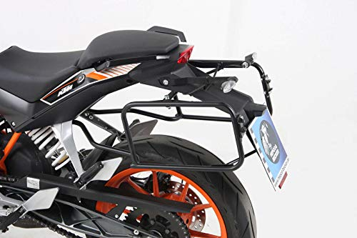 Hepco&Becker Side Luggage Rack Screwed Black for KTM 125/200 Duke up to Year of Manufacture 2016