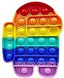 KKP Among Us Juguete Antiestrés Sensorial Autismo, Push Pop Fidget Toy Push Bubble Fidget, Juguete Educativo Fitget para Aliviar el Estrés.