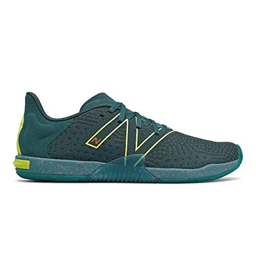 New Balance Minimus TR V1 Cross Trainer da uomo, Verde/giallo., 44 EU