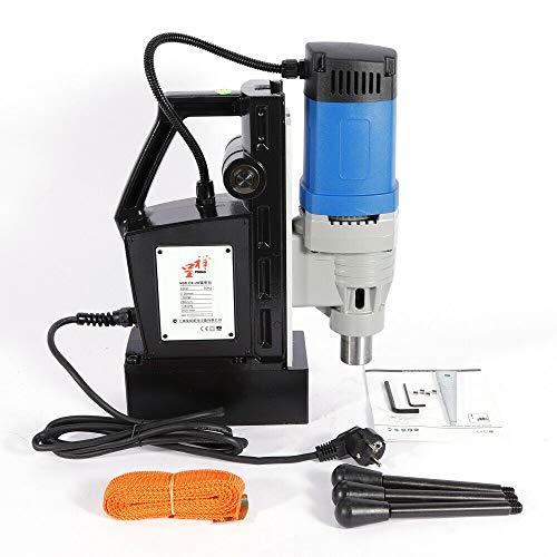 1680W Portátil Industrial Taladro Magnético Taladradora Magnética 300RPM Electro Broca Magnética Taladro de columna