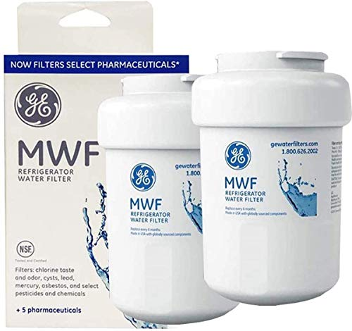 MWF MWFP Refrigerator Water Filter Replacement for GE Refrigerator Compatible