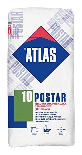 ® ATLAS POSTAR 10 - Ausgleichsmasse Zementfuβboden 10-100 mm