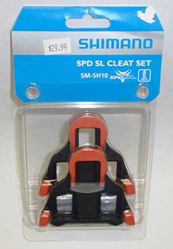 Shimano SM-SH10 SPD-SL Cleat Set With Hardware, Fixed Model
